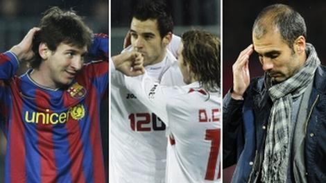 Copa del Rey: Sevilla golpeó con un 2-1 al Barcelona