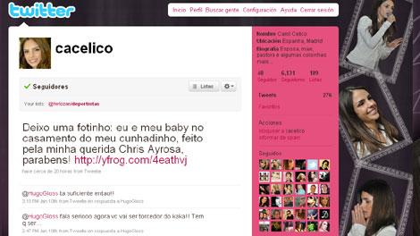 La esposa de Kaká es su fan número uno en Twitter