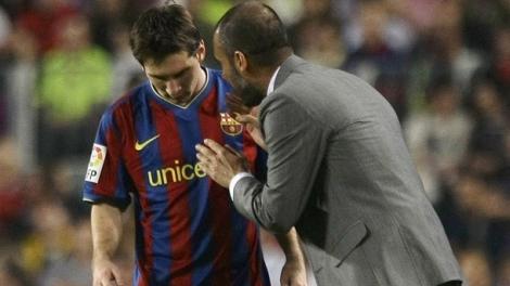 Las lágrimas de Messi tras la eliminación del Barza