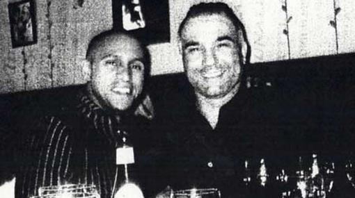 Roberto Carlos, Cannavaro y Maradona se tomaron fotos con la mafia italiana
