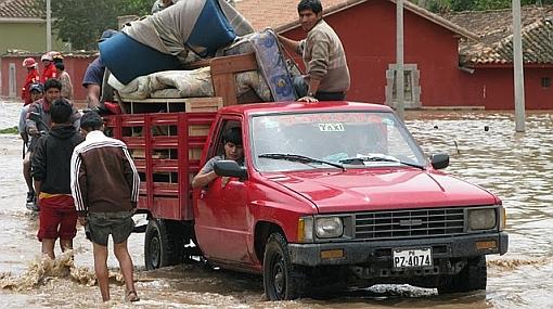 Vea las impresionantes imágenes de las inundaciones en Urubamba y el Valle Sagrado