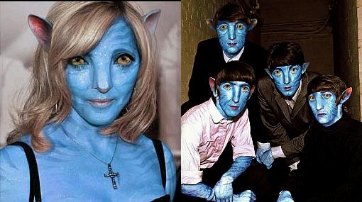Vea a Bono, Britney Spears, los Beatles y Lady Gaga como personajes de 'Avatar'