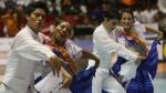 Colorido desfile de coreografías de marinera en Trujillo - Noticias de concurso nacional de marinera