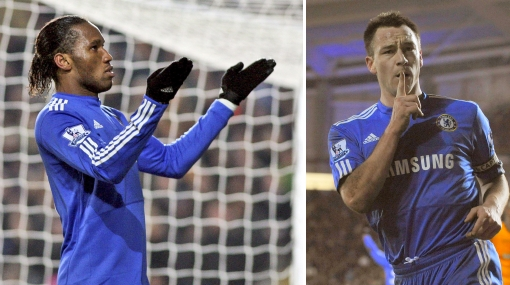 Terry se colgó del gol de Drogba para que no hablen de su escándalo