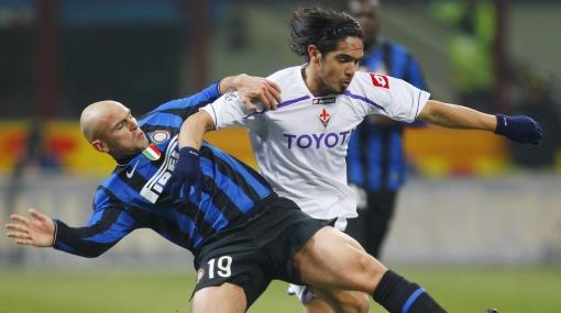 La Fiorentina de Juan Vargas no levanta: cayó 1-0 con el Inter