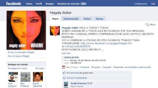 """Magaly Solier cierra su Facebook: """"Necesito respirar, estoy muy cansada"""""""