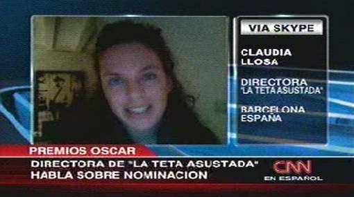 """Claudia Llosa: """"Estar en los Óscar mostrará que los peruanos tenemos mucho cine y muchas ganas"""""""