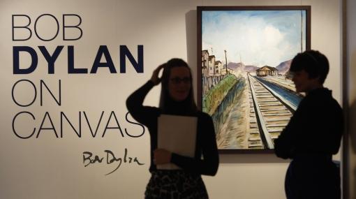 Una docena de lienzos de Bob Dylan se expondrá en una galería en Londres