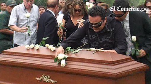 Familiares y amigos le dieron el último adiós a Christian Benavides