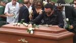 Familiares y amigos le dieron el último adiós a Christian Benavides - Noticias de christian benavides