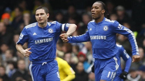 Drogba abrió la cuenta y el Chelsea llegó a cuartos en la Copa FA