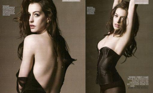 Anna Hathaway destapó su lado más sensual
