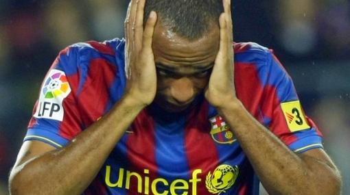 Thierry Henry desaparece de los planes de Guardiola en el Barcelona
