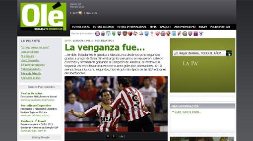 """""""Alianza Lima pasó por arriba al campeón de la Libertadores"""", dice la prensa argentina"""