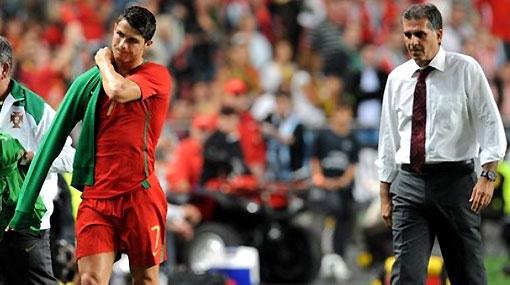 """Entrenador de Portugal: """"Tenemos mucho que esperar de Cristiano Ronaldo"""""""