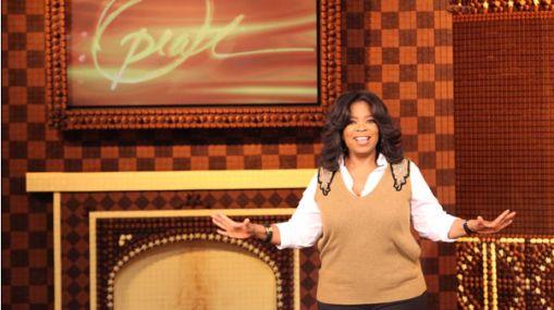 Un set de chocolate para Oprah Winfrey