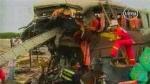 Aumentan a 38 los fallecidos por el choque entre buses registrado en La Libertad - Noticias de asmat guerrero