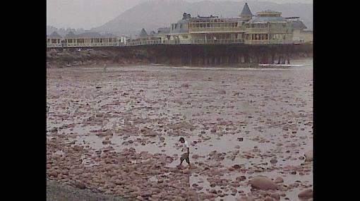 Tenga cuidado: El mar se retiró al menos 200 metros en la Costa Verde
