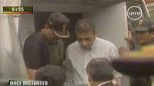 Antauro Humala asistió al velorio de su hijo, en Barranco