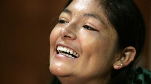 Magaly Solier volvió a sonreír: ya está rumbo a Los Ángeles