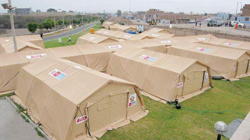 El Gobierno envió a Chile un hospital de campaña mejor equipado que el que se usó en el terremoto en Ica