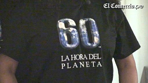 Artistas y comunicadores peruanos se suman a la campaña 'La Hora del Planeta'