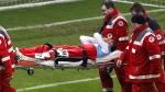 Martín Demichelis es de acero: tiene triple fractura en la cara y jugaría en tres semanas - Noticias de partido amistos