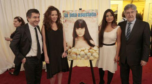 """El equipo de """"La teta asustada"""" celebró un posible triunfo con una cena pagada por Claudia Llosa"""