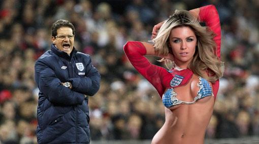 Las esposas de los futbolistas ingleses se rebelaron contra Fabio Capello