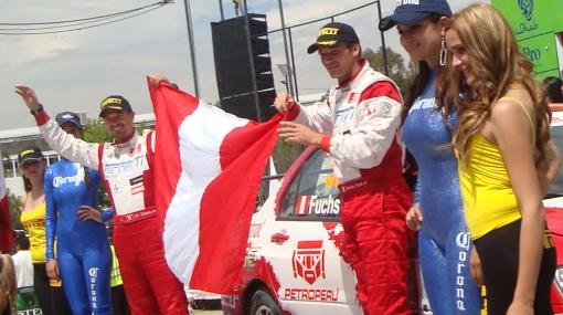 Nicolás Fuchs quedó tercero en Mundial de Rally que se corrió en México