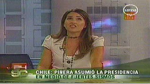 Terremoto en TV: conductora chilena vivió ante cámaras una fuerte réplica