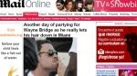 Cigarros, alcohol y mujeres: así olvida Wayne Bridge la traición de John Terry - Noticias de vanessa perroncel