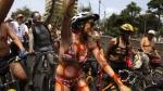 Ciclistas se muestran desnudos en calles de Lima para exigir respeto - Noticias de ciclonudista lima