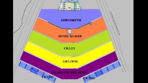 Aerosmith en Lima: conozca las zonas del concierto de este 22 de mayo