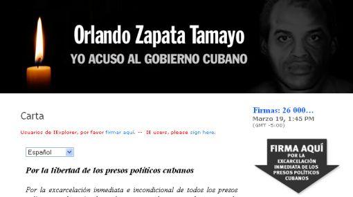 Más de 26 mil personas en todo el mundo apoyan a los presos políticos en Cuba