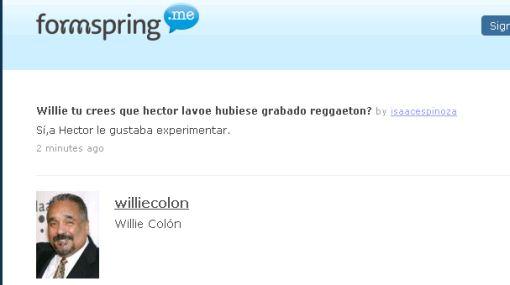 Willie Colón cree que Héctor Lavoe hubiese grabado reggaetón