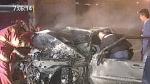 Cuatro heridos dejó aparatoso accidente de auto en la Vía Expresa - Noticias de eduardo gamboa