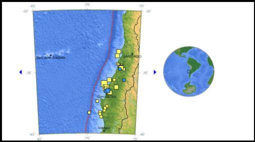 Fuertes réplicas sacudieron las regiones afectadas por el terremoto en Chile