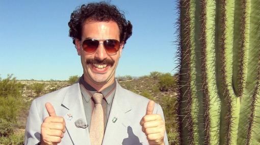 Locura de amor: 'Borat' contrajo matrimonio