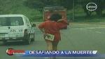 Perturbada mujer que desafiaba tráfico en la Costa Verde era exitosa empresaria - Noticias de katia kalma
