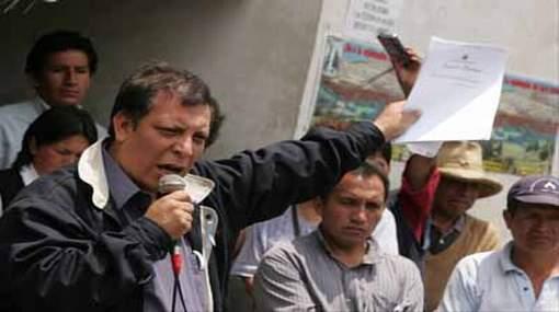 Marco Arana promoverá un frente de izquierda para elecciones presidenciales