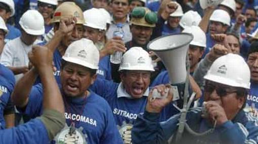 Mineros anuncian huelga nacional indefinida a partir de la última semana de junio