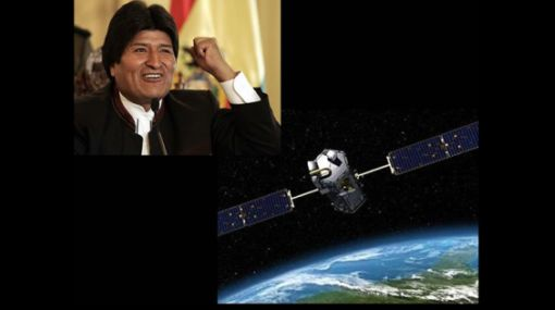 Bolivia firmó convenio con China para construcción de satélite Túpac Katari