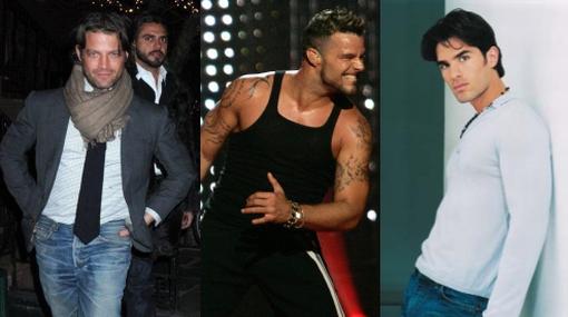 ¿Los ex novios de Ricky Martin?