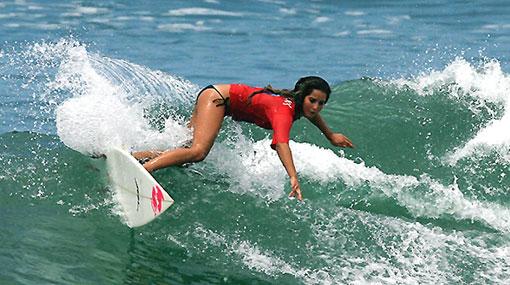 La bella Alexia Jerí competirá desde mañana en el Pro Junior de Brasil