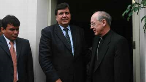 García apostó por el diálogo tras críticas de Cipriani por la píldora del día siguiente