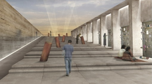 Así será el espacio que honrará a víctimas del terrorismo