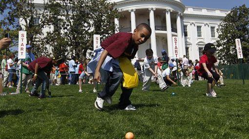 La Casa Blanca abrió sus puertas a los niños por Pascua