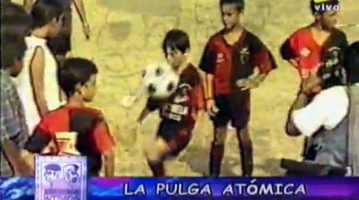 El día que Messi jugó su primer partido internacional en Perú a los 9 años