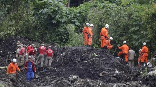 Tragedia en Brasil: 200 personas quedaron sepultadas por alud